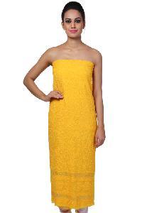 Lucknowi Kurti Fabric=>Lucknowi Kurti Fabric (10076)