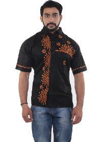 Mens Lucknowi Shirts=>Mens Lucknowi Shirt (20086)