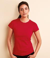 Ladies Round Neck T-Shirts