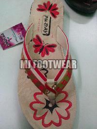 Ladies PU Slippers 05