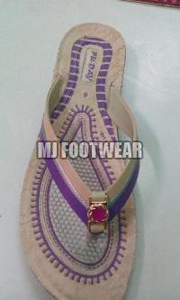 Ladies PU Slippers 04
