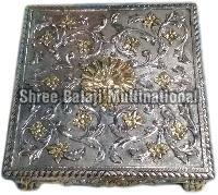 Silver Coated Chowki 01