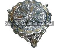 Silver Coated Chowki 04