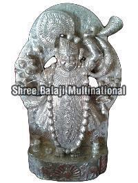 Silver Coated Statues