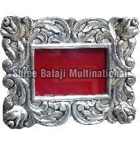 Silver Plated Wooden Photo Frame 01