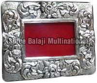 Silver Plated Wooden Photo Frame 02