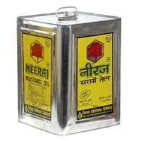 Mustard Oil (Neeraj Brand - Tin Container) 15 Ltr.