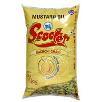 Mustard Oil (Scooter Brand - Pouch) 1 Ltr.