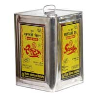 Mustard Oil (Scooter Brand - Tin Container) 15 Ltr.