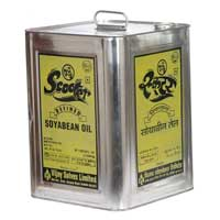 Refined Soybean Oil - Tin Container 15 Ltr.