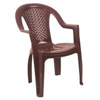 Cross Back King Plastic Chair