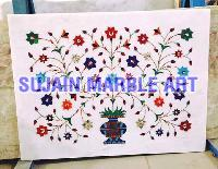 Marble Inlay Floor Tiles 01