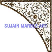 Marble Inlay Floor Tiles 03
