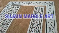 Marble Inlay Floor Tiles 04