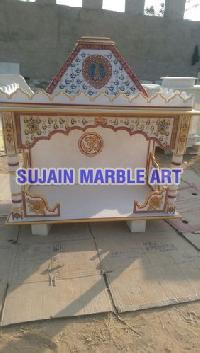 Marble Painting Temple 01