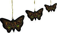 Hanging Butterflies