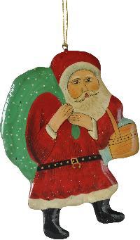 Hanging Santa Claus