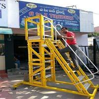 FRP Mobile Platform Ladder