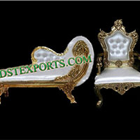 Asian Wedding Golden Furniture