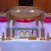 Bollywood Wedding Crystal Mandap