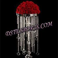 Flower Wedding Crystal Centerpieces
