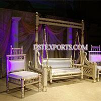 Latest Indian Wedding Sankheda Swing