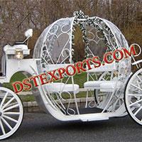 Sweet Wedding Cinderella Carriage