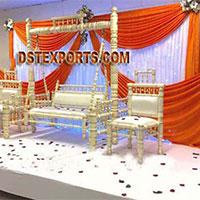 Wedding Decorated Swing