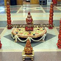 Wedding Decoration Mandap Pot Pillar