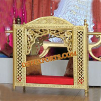 Wedding Golden Carved Doli