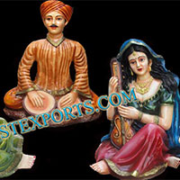 Wedding Rajasthani Fiber Statue
