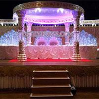 Wedding Six Pillar Aishwarya Crystal Mandap