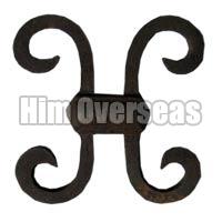 Ornamental H-Scroll