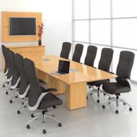 Conference Room Table and Chairs 02
