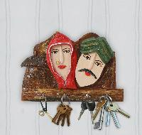 Wooden Key Holder 04