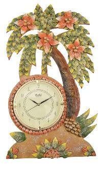 Wooden Wall Clock 06