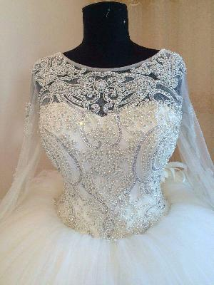 Bridal Gown=>Bridal Gown 09