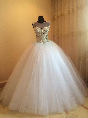 Bridal Gown=>Bridal Gown 13