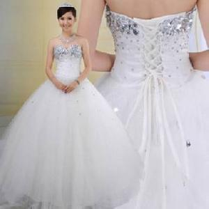 Bridal Gown=>Bridal Gown 40