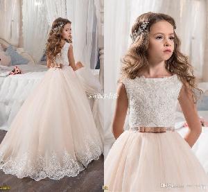 Flower Girl Dress=>Flower Girl Dress 03