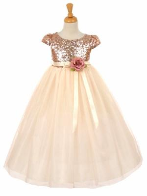 Flower Girl Dress=>Flower Girl Dress 13