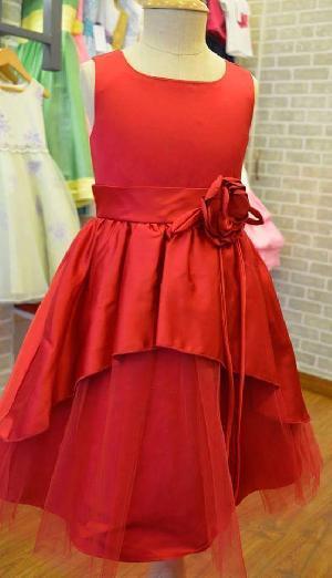 Flower Girl Dress=>Flower Girl Dress 18