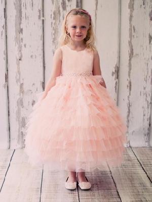 Flower Girl Dress=>Flower Girl Dress 24