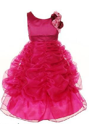 Flower Girl Dress=>Flower Girl Dress 09