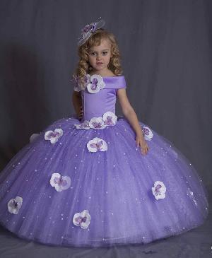 Flower Girl Dress=>Flower Girl Dress 06