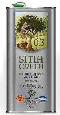 Greek Orino Extra Virgin Olive Oil