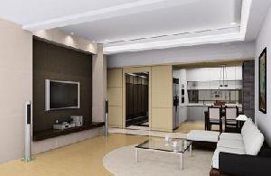 Living Room Interior Designing Service 01