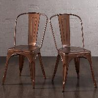 Artistic Metal Chairs