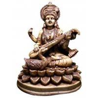 Resin Saraswati Statue