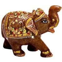 Stone Elephant Statue